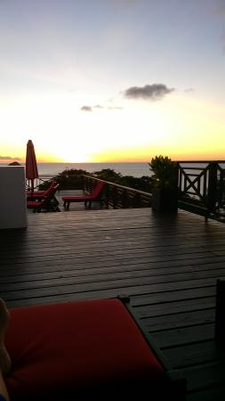 Cap Estate, Sta. Lucía: Watching the sun go down