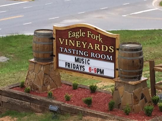 Hayesville, Kuzey Carolina: Nearby Vineyard