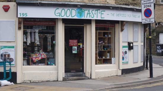 ‪Good Taste - The Sheffield Fair Trade Shop‬
