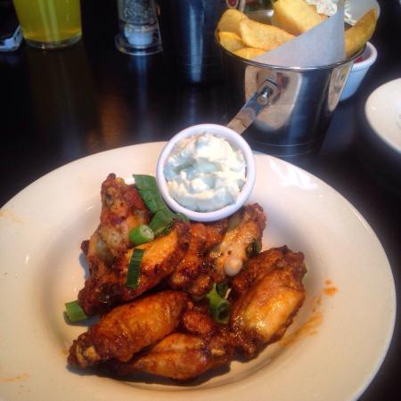 Bar One: Scrumptious Chicken Wings.