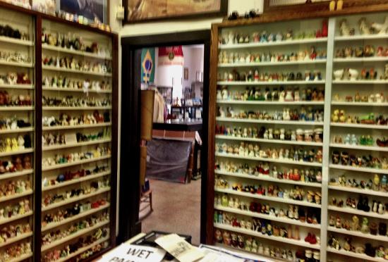 Port Hueneme, CA: The 3,000 piece salt and pepper collection