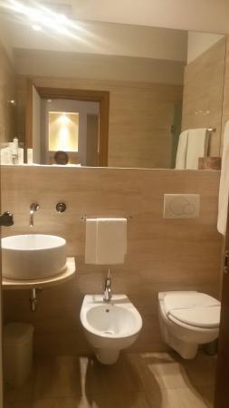 Hotel Le Grazie: Pulito carino unico neo...arredamento della camera lascia un pò  a desiderare... bagno impeccabi