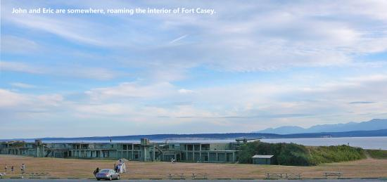 Coupeville, WA: Fort from a distance