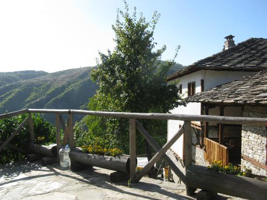 Kovachevitsa, Bulgarien: The garden