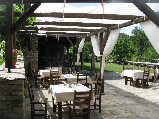 Kovachevitsa, Bulgarien: the tavern