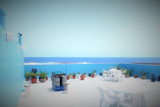 Ponta Do Sol, Кабо-Верде: Terrasse panoramique - Vue sur mer