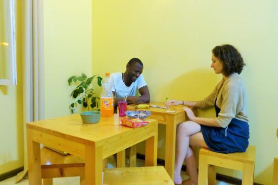 Ponta Do Sol, Кабо-Верде: Livres & Jeux à dispo - Moment de détente