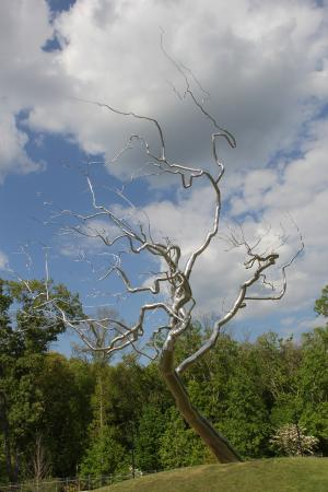 Bentonville, AR: Yield by Roxy Paine