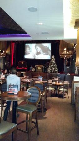 Hard Rock Cafe: Palco