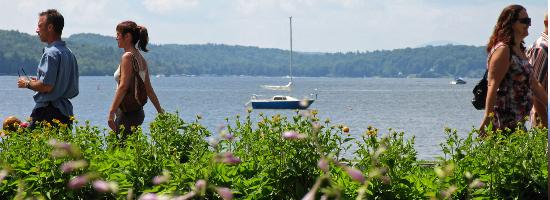 Auberge, La belle Victorienne : Lac Memphremagog