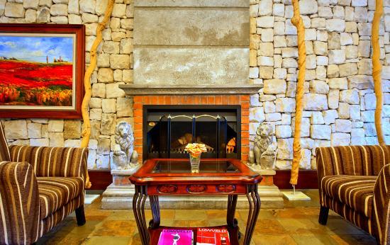 La Villa Vita Nelspruit : Fire Place