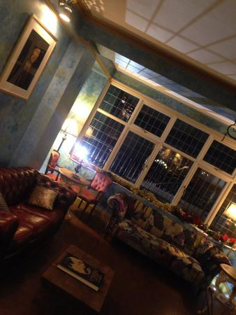 Lamphey, UK: The Dial's stylish interior