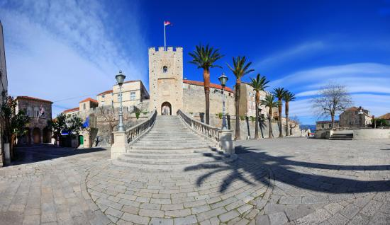 Korcula Island, Kroatien: center