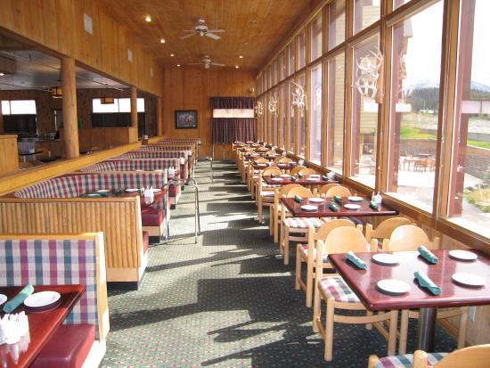 Saint Mary, MT: Dining Room