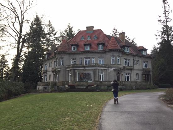 Pittock Mansion: The back