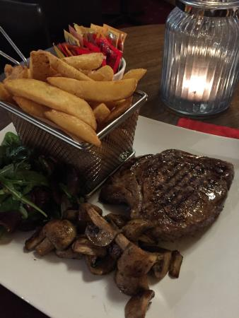 Onich, UK: Best steak that i have tasted