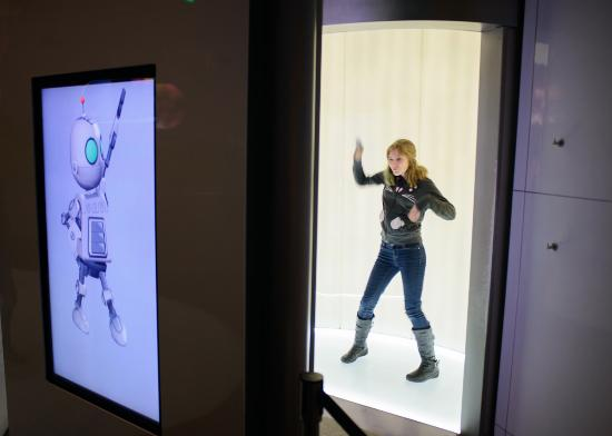 Sony Wonder Technology Lab : The motion-capture cameras