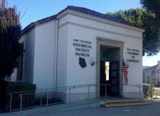 Port Hueneme, Californien: Museum is located in Hueneme Bank Building (1925) Historical Landmark