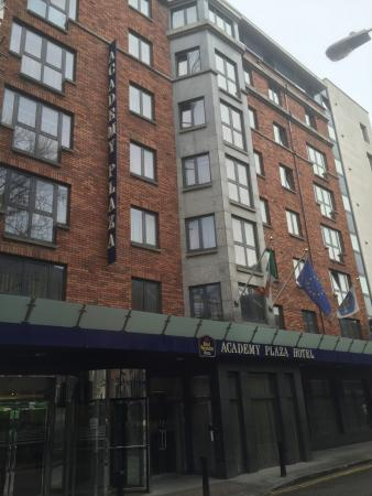 view outside of hotel picture of academy plaza hotel dublin rh tripadvisor com