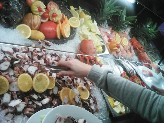 Castejon, España: buffet