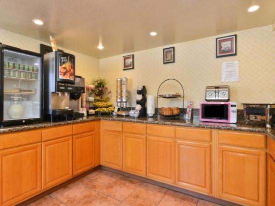 El Monte, Kalifornien: Breakfast Area