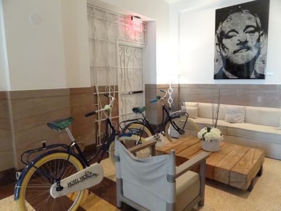 Hotel Victor: Uso gratuito de bicicletas do hotel