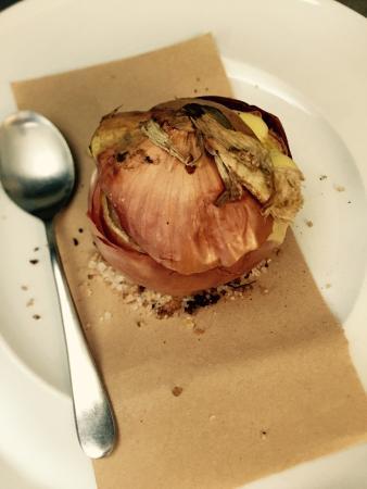 Da Pippi : Cipolla al forno con fonduta