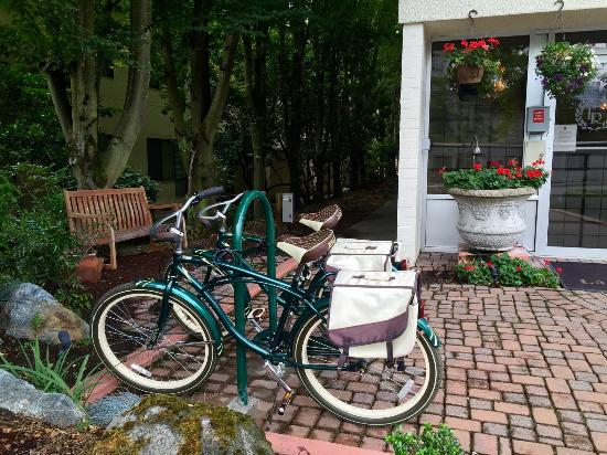 La Residence Suite Hotel: Complementary bike use!