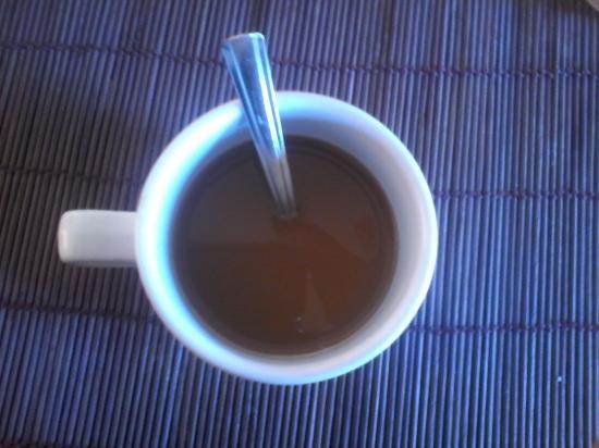Costa Real Suites: cafecito de buenos días.