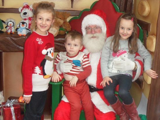Inch, Irlanda: Santa at Wexford Lavender Farm