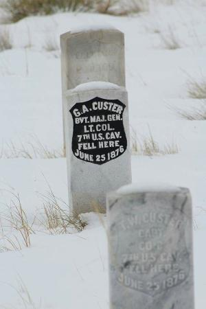 Crow Agency, MT: Little Big Horn Battlefield