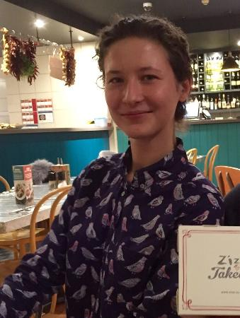 Zizzi - Leeds: Very helpful and friendly staff