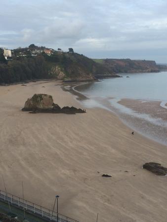 Croyland Guest House: The beach 2 minute walk from croyland