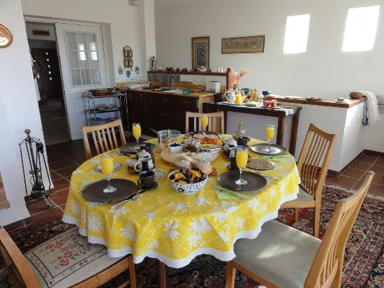 The Frenkels Bed and Breakfast: a feast for the eyes!