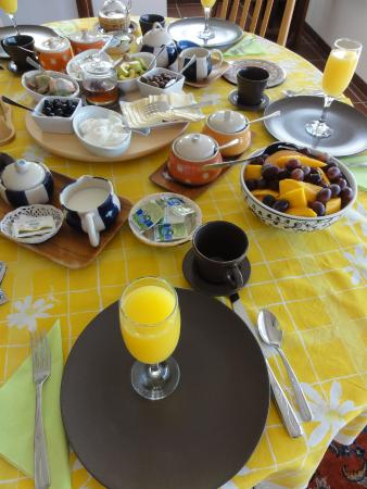 The Frenkels Bed and Breakfast: all homemade breakfast selections