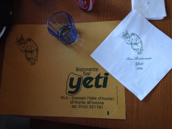 Yeti Restaurant: photo0.jpg