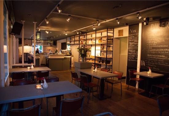 Dieren, Nederländerna: Detail restaurant