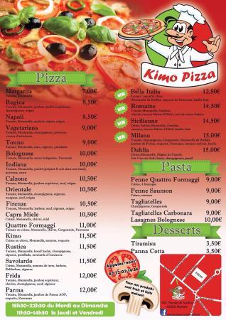 Vertou, França: Kimo Pizza