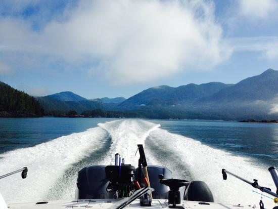 Eagle Nook Resort & Spa: Fishing in Barkley Sound