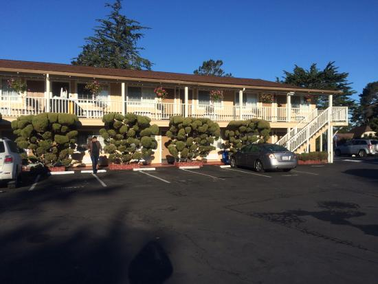 Comfort Inn Monterey by the Sea: Área externa