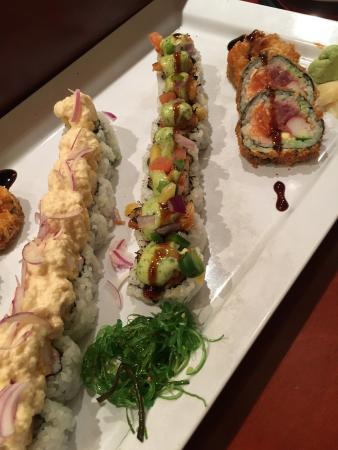 Shiro Restaurant: Sushi rolls