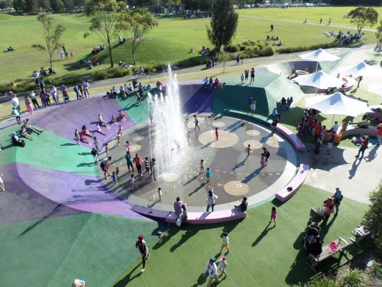 Homebush, Australia: Water Play Area