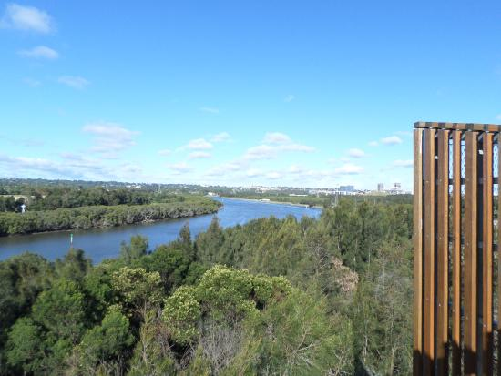 Homebush, Australia: View from the Top House