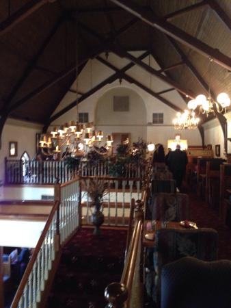 Freemason Abbey Restaurant: Pics from upstairs
