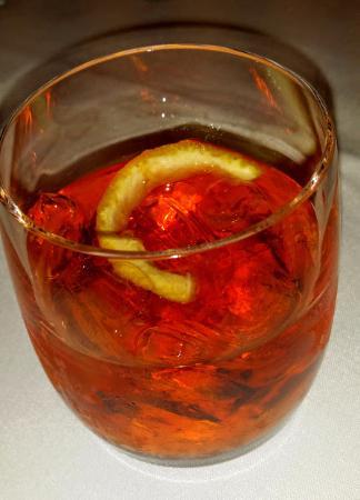 San Mateo, CA: Sazerac cocktail
