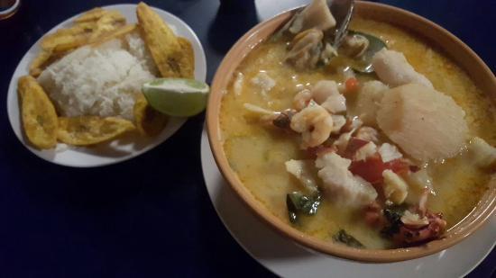 La Palapa - Bar : Seafood soup