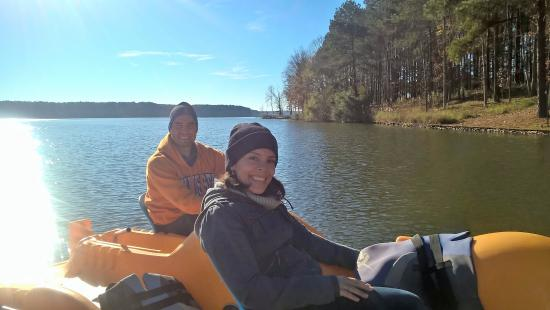 Greensboro, GA: cold day to be on the lake