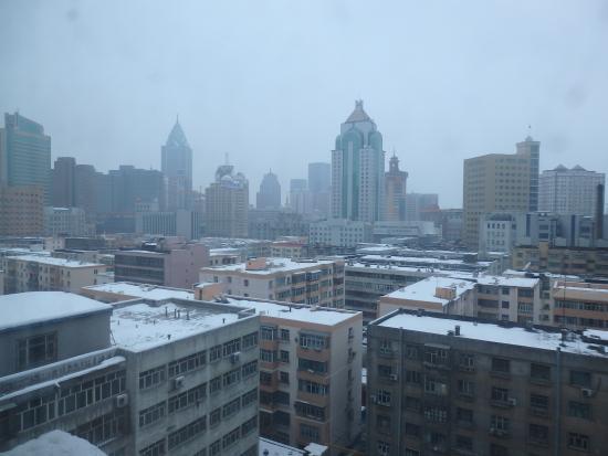 Jinjiang Inn Urumchi Hongqi Road: 2月でしたが、洗濯物は乾きませんでした。(当たり前?)