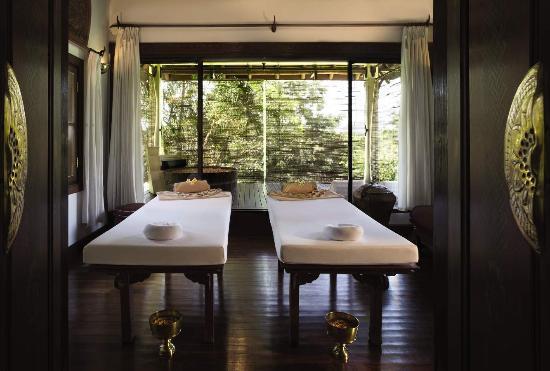 The Mekong Spa: Treatment room