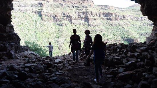 Santa Lucía, España: Interior de la cueva de la FORTALEZA
